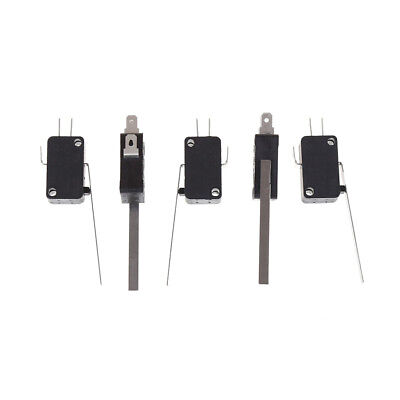 5pcs KW7-9 Long Straight Hinge Lever Type SPDT Micro Switch Limit SwitchPX