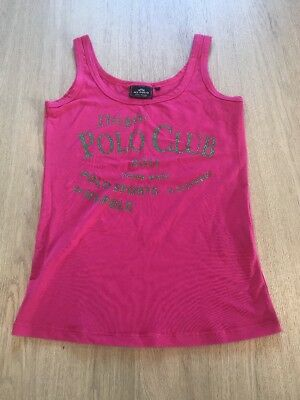 Hv Polo Society Tanktop Tank Top in Pink Gr. M