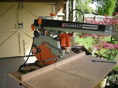 Dewalt DW125 Radial Arm Saw 240V