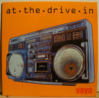 "10"" AT THE DRIVE-IN - Vaya  1999  white vinyl"