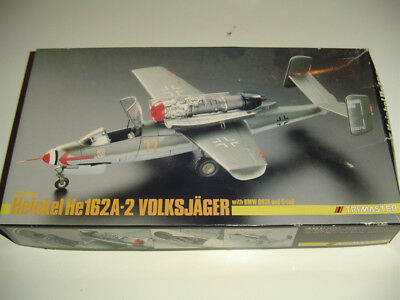 TRIMASTER 1/48 HEINKEL HE162A-2 Volksjäger with BMW003E with V-Tail