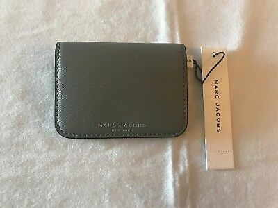 Marc Jacobs New York Gray Credit Card Case NWT $75