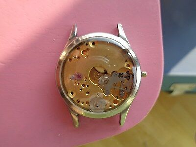 Longines military 6 tacche steel case and movement 12.68z