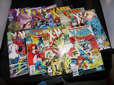 X-men (1991) Lot of #15 #19 #25 #26 #27 #30 #35 #51 #53 and #74