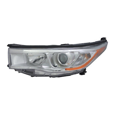 New Left Head Light Fits Toyota Highlander 2014-2016 81150-0E180 To2502221