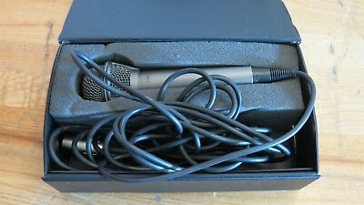 Lanier Omni-Directional Microphone F-50C with Cord and Case