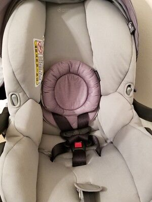 Maxi-Cosi Mico Max Infant Car Seat, Gray Gavel- Lightly Used!!