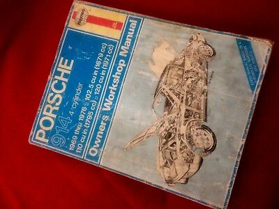 Porsche 917 owners workshop manual 1969 onwards all models an porsche 914 1969 thru 1976 owners workshop manual fandeluxe Gallery