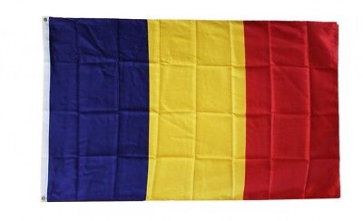 CHAD FLAG 3 x 5 '  FLAG - NEW 3X5 INDOOR OUTDOOR COUNTRY FLAG -lower price