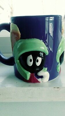 Marvin the martian 3d mug coffee cup vintage