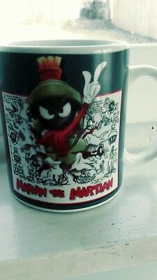 MARVIN the MARTIAN Warner Brothers Store COFFEE CUP/MUG 1995
