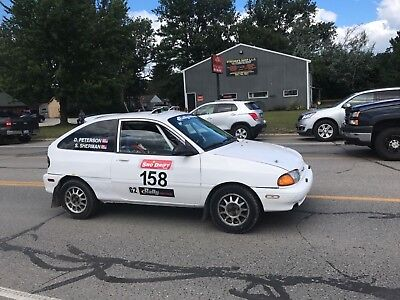 Ford Aspire Rally Car - Ready To Go - Lots Of Spares - Recent Podium Finish!