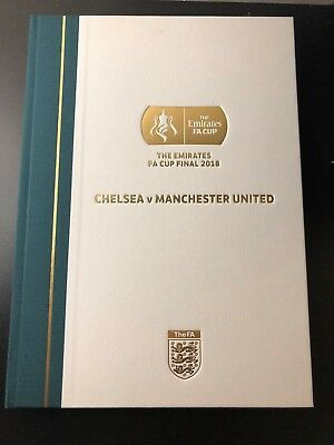 FA Cup Final 2018 Official Limited Edition Commemorative Programme
