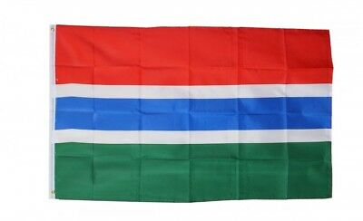 GAMBIA FLAG 3 x 5 '  FLAG - NEW 3X5 INDOOR OUTDOOR COUNTRY FLAG -lower price