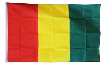 GUINEA FLAG 3 x 5 '  FLAG - NEW 3X5 INDOOR OUTDOOR COUNTRY FLAG -lower price