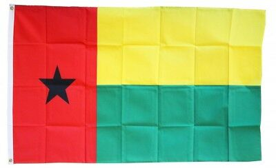 GUINEA BISSAU FLAG 3 x 5 '  FLAG - NEW 3X5 INDOOR OUTDOOR COUNTRY FLAG