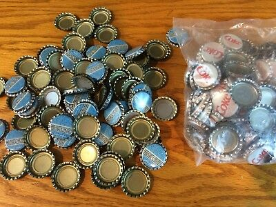 Lot of Vintage Coca Cola Bottle Caps Pepsi light