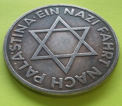 Reich Exonumia Coin Medal 1933 Third Reich Hitler Angriff Germany WWII
