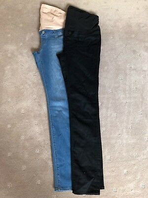 Jeanswest Maternity 2 Pairs Skinny Jeans Size 10