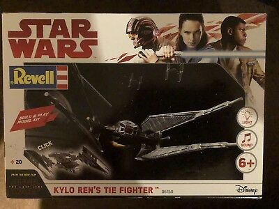 Revell Star Wars Kylo Ren's Tie Fighter Build & Play Model Kit #06760