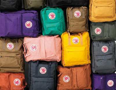FJALLRAVEN KANKEN Mini BACKPACK'S STYLE No 23561 11.4 x 7.87 x 5.12 In 7L NEW