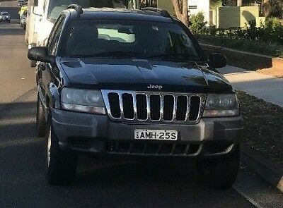 Jeep Cherokee 2002 Registered till 28/12/18  but needs mechanical work to drive