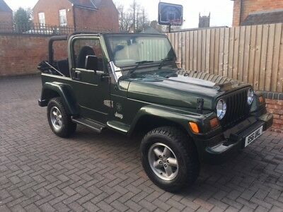 Jeep Wrangler 2.5 Petrol one lady owner