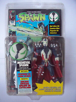 Medieval Spawn Mcfarlane Toys OVP Ultra Action Figures + Comic Book