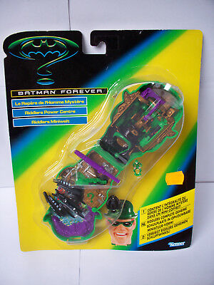 OVP Batman Forever RIDDLERS POWER CENTRE Micro Playset 1996 Neu DC Miniwelt