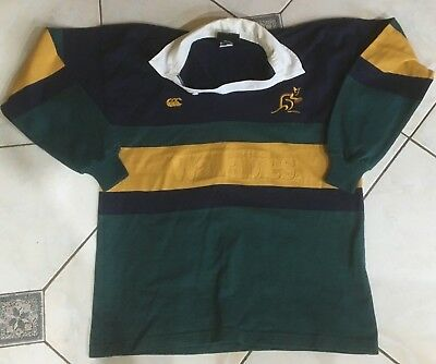 Rugby Union Wallabies Jersey (size L)