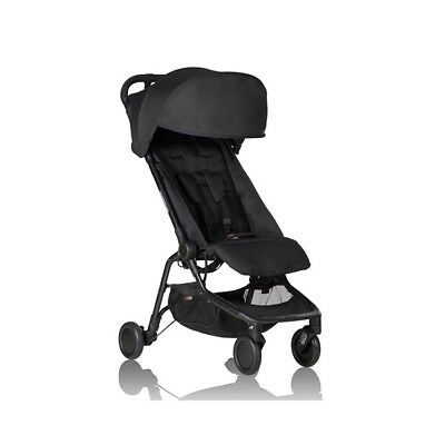 Mountain Buggy Nano Black - Travel/Carry On Stroller