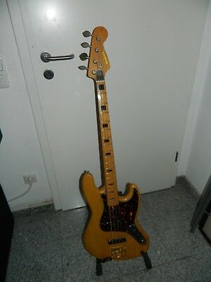 Bass Aria Diamond mit Fender Tasche Made in Japan Vintage (kein Greco)