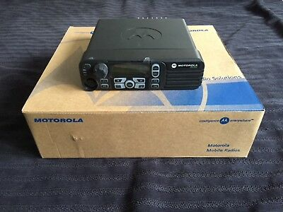 Motorola MotoTrbo DM 3600 Digital Mobile Two-Way Radio (UHF)