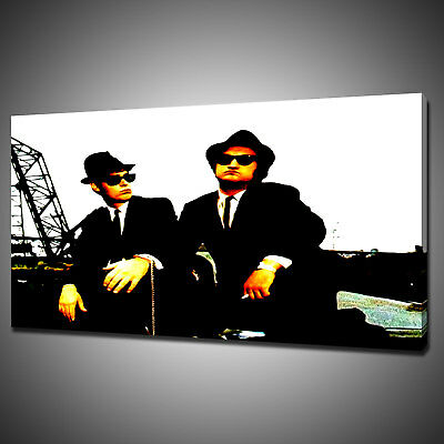 The Blues Brothers Canvas Picture Print Wall Art Home Decor Free Delivery