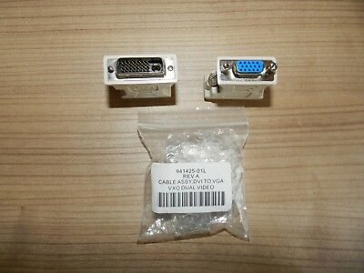 Stecker Adapter CABLE ASSY DVI TO VGA VXO DUAL VIDEO (3)