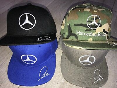 Mercedes Bboy boy Adjustable cotton Men Women Baseball Snapback Cap Hip-hop Hat