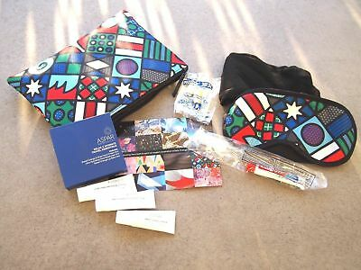 Qantas Business Class LATEST Travel Amenity Kit - Craig & Karl, Artists - NEW!