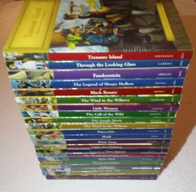 NICE Lot of 22 Junior Classics for Young Readers Books Home School SC
