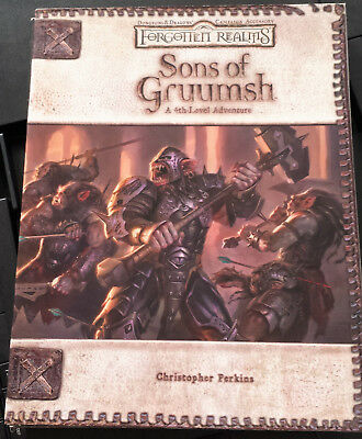 Roleplay D&D –Adventure - Sons of Gruumsh -(2005) Forgotten Realms Top
