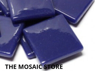 Royal Blue Gloss Glass Tiles 2.5cm - Mosaic Art Craft Supplies Tiles