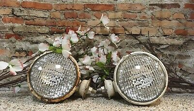 Vintage Tractor Lights, Farm house, Barn, Country, Decor, steampunk
