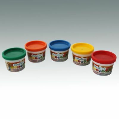 Sonderposten 5x80ml Fingermalfarbe Fingerfarbe Malfarbe Kinderfarbe Geschenkidee