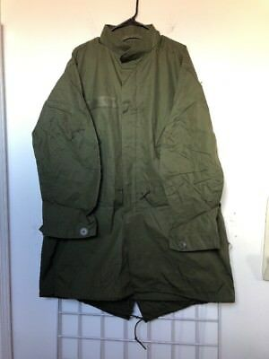 Vietnam 1972 Us Army Fishtail Parka M-65 Extreme Cold Weather Military M65 Small
