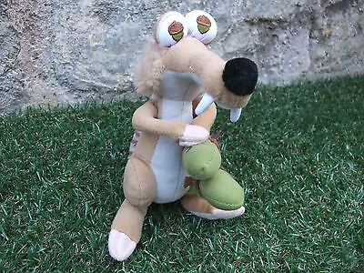 Ice Age 4 ~ Scrat Sabre Tooth Squirrel with Nut ~ Plush Toy 20 CM ~ VGC