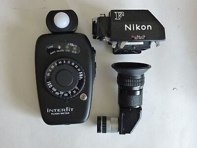 Nikon Photomic Ftn finder, Nikon angle finder and flash meter