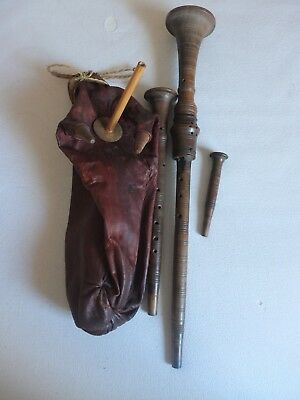 Alter Dudelsack antique bagpipes old bagpipes vintage bagpipes