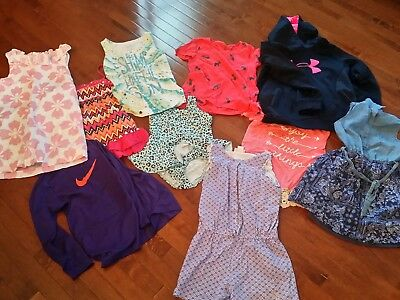 Lot of 10 ~ nike, juicy couture, justice, gap ~ Youth girls size 10