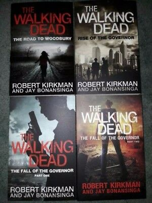 The Walking Dead Book set 1-4,  good condition