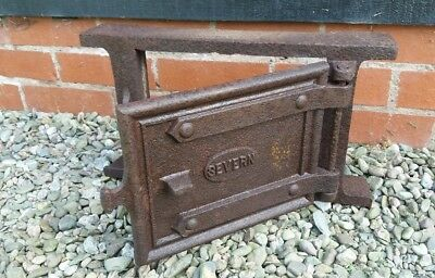 small cast iron bread oven door and fittings postbox wall feature