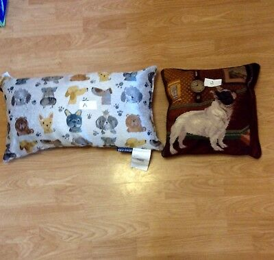 French Bulldog Embroidered Pillows SPECIAL SALE PRICE